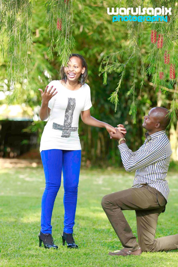 top kenyan photographer engagement shoot