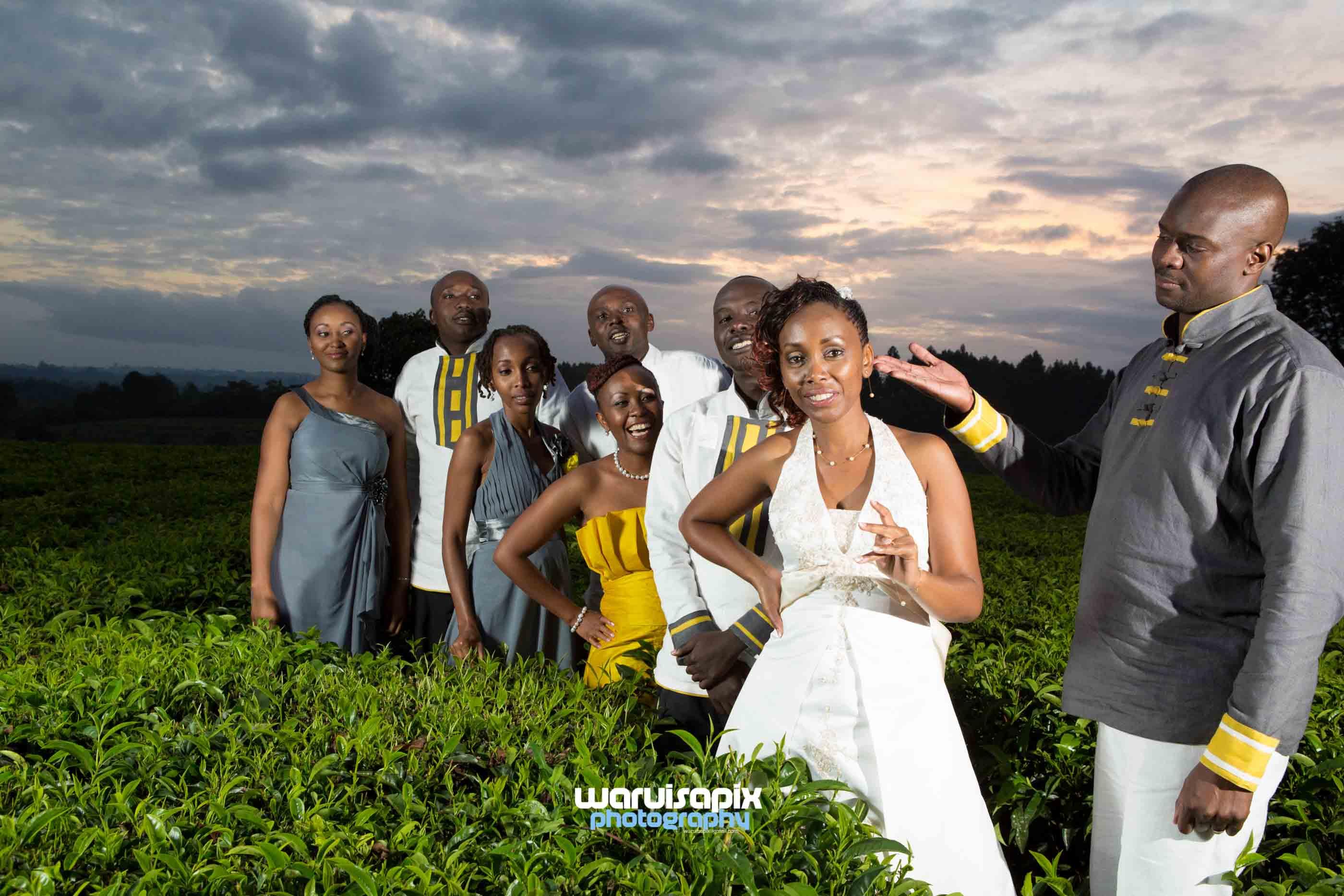 Kibunja wedding hairstyles