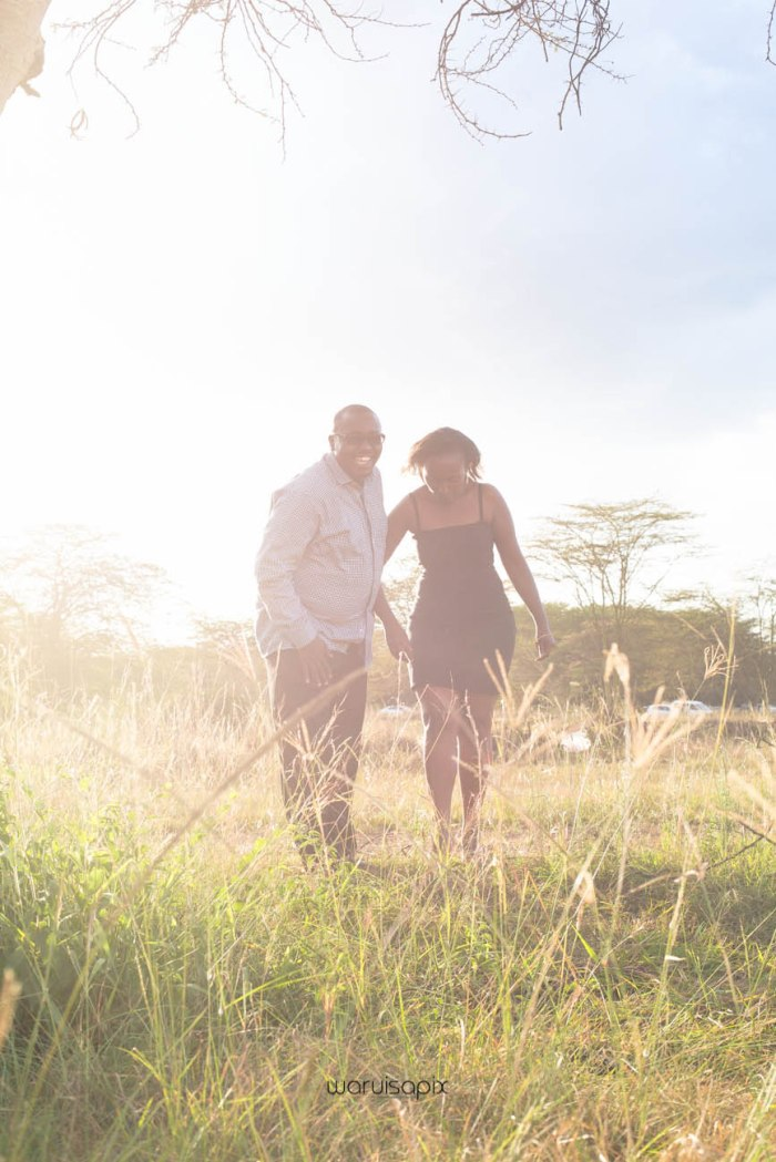 top kenyan wedding photographer sunset engagement shoot at Uhuru gardens-14