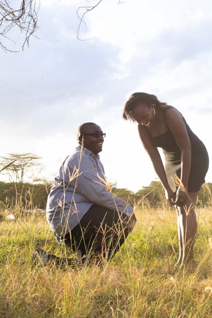 top kenyan wedding photographer sunset engagement shoot at Uhuru gardens-16