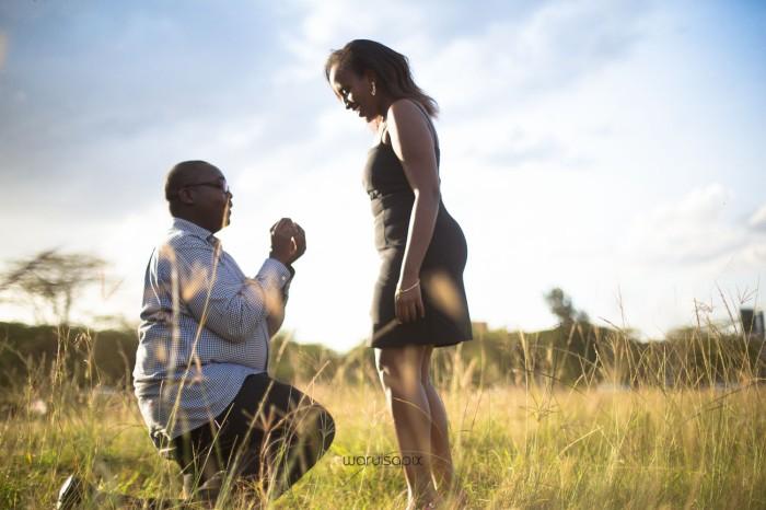 top kenyan wedding photographer sunset engagement shoot at Uhuru gardens-19