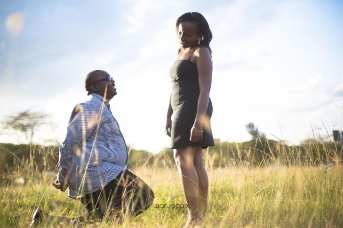 top kenyan wedding photographer sunset engagement shoot at Uhuru gardens-20