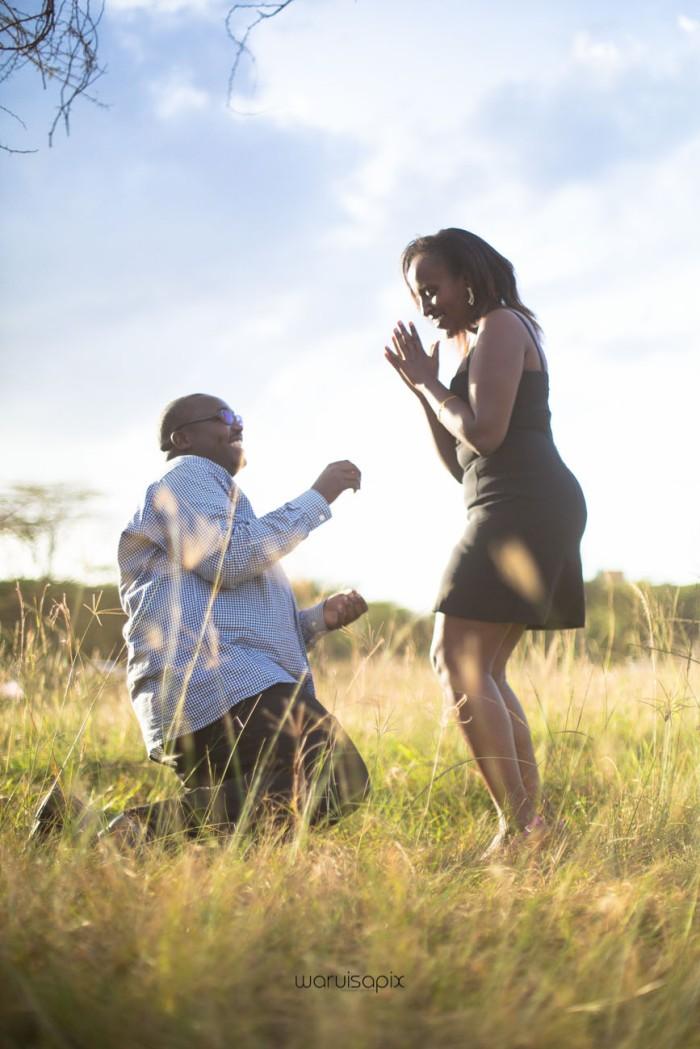 top kenyan wedding photographer sunset engagement shoot at Uhuru gardens-23