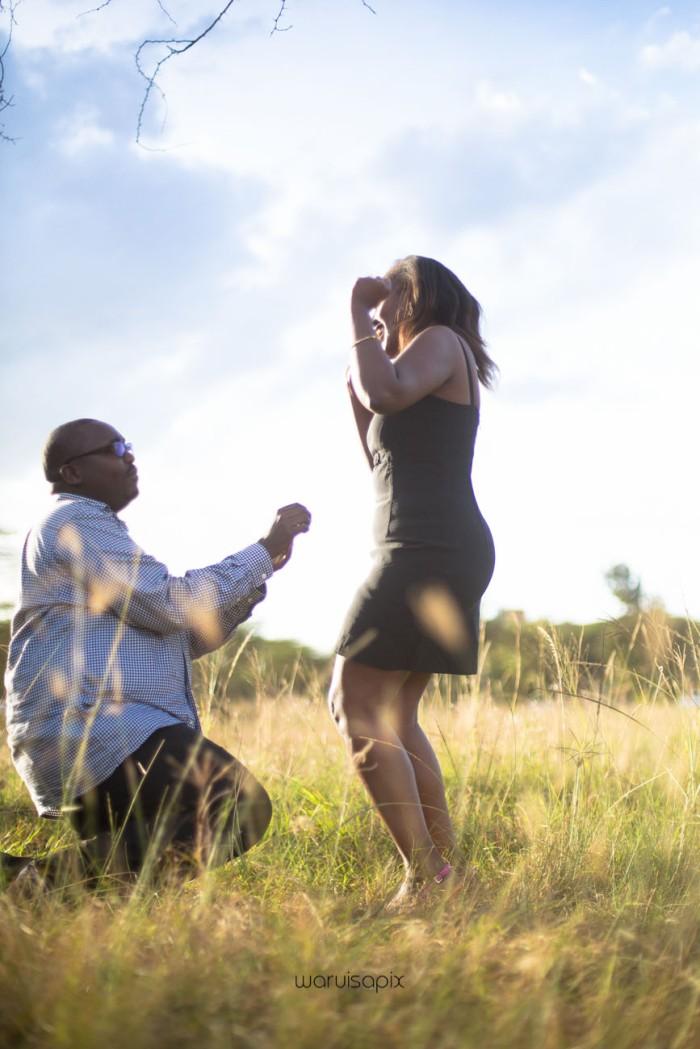 top kenyan wedding photographer sunset engagement shoot at Uhuru gardens-24