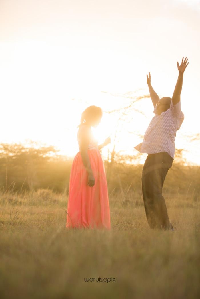 top kenyan wedding photographer sunset engagement shoot at Uhuru gardens-40
