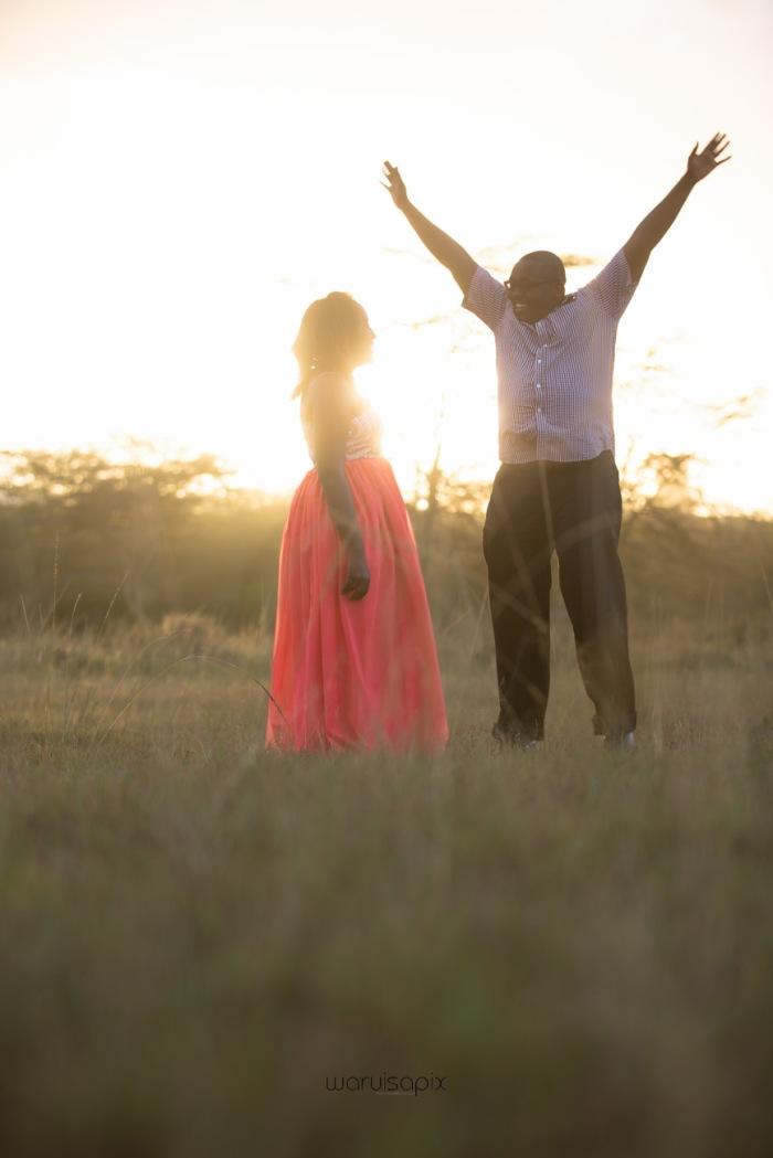 top kenyan wedding photographer sunset engagement shoot at Uhuru gardens-41