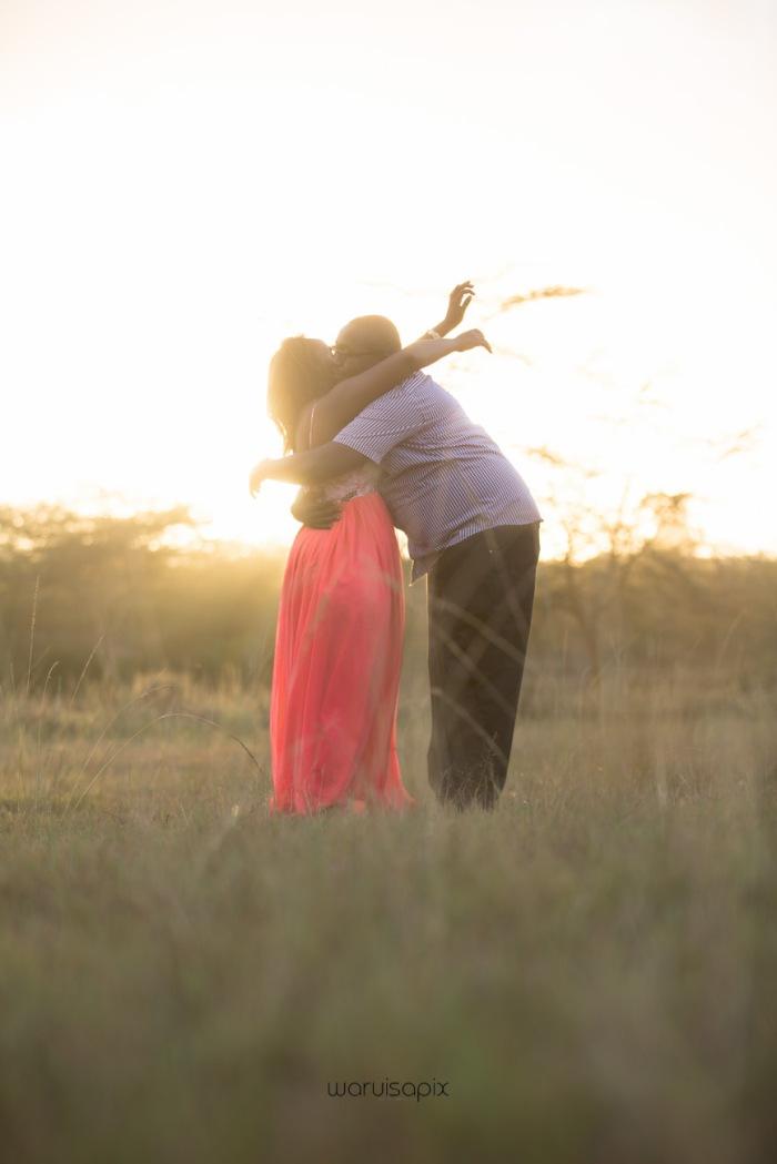 top kenyan wedding photographer sunset engagement shoot at Uhuru gardens-43