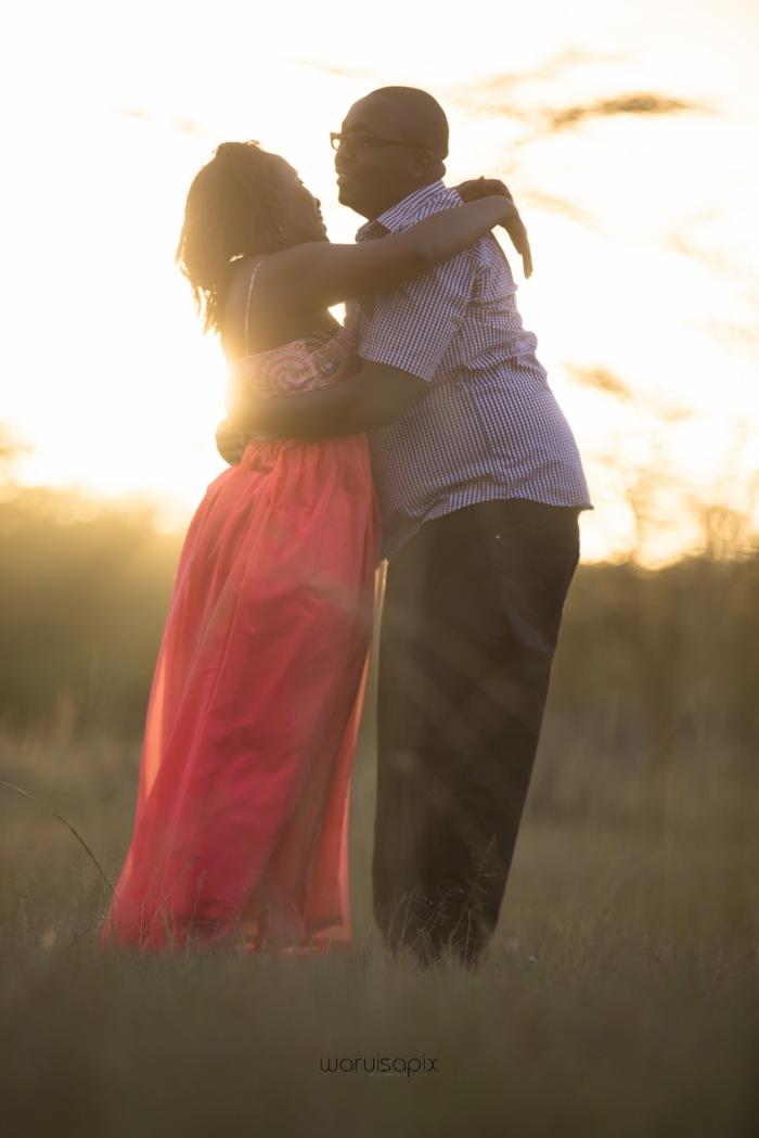 top kenyan wedding photographer sunset engagement shoot at Uhuru gardens-44