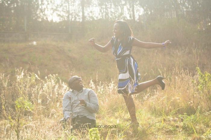 top kenyan wedding photographer sunset engagement shoot at Uhuru gardens-7