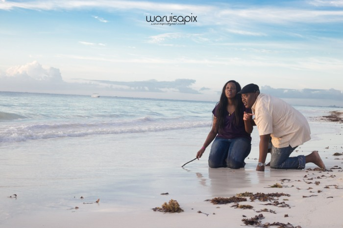 Sunrise wedding engagement at a kenyan beach watamu by top photographer waruisapix -20