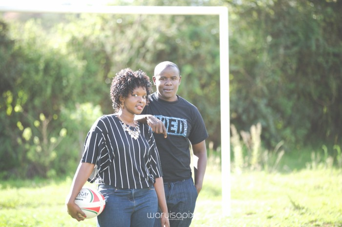 Mercie and Maurice Engagement shoot by waruisapix ring on a ball-10