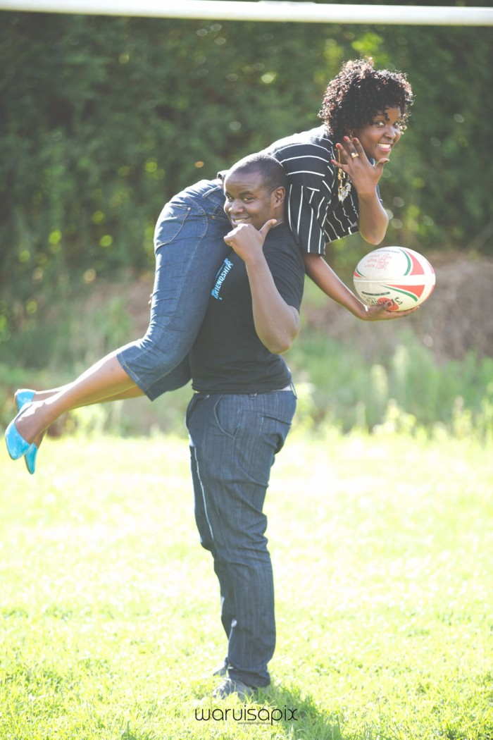 Mercie and Maurice Engagement shoot by waruisapix ring on a ball-15