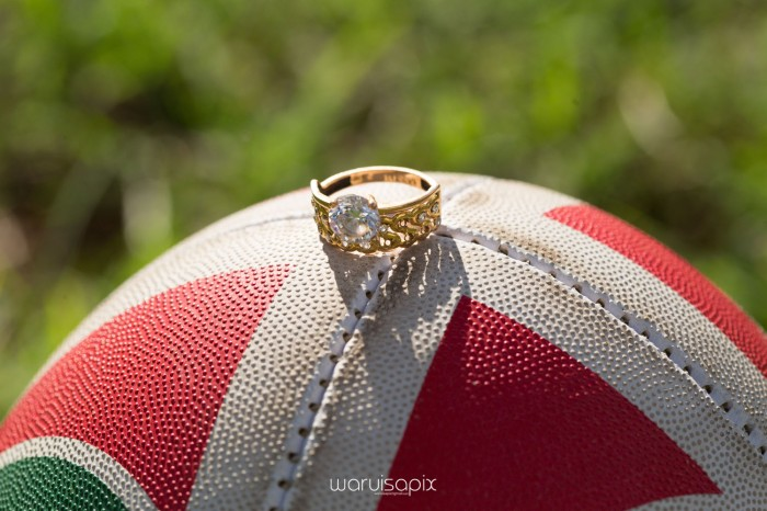 Mercie and Maurice Engagement shoot by waruisapix ring on a ball-19