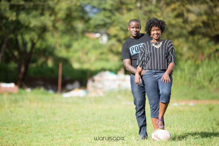Mercie and Maurice Engagement shoot by waruisapix ring on a ball-22