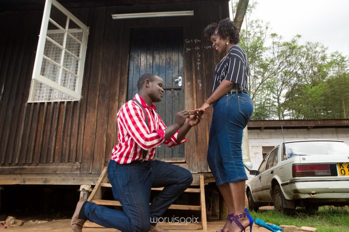 Mercie and Maurice Engagement shoot by waruisapix ring on a ball-33