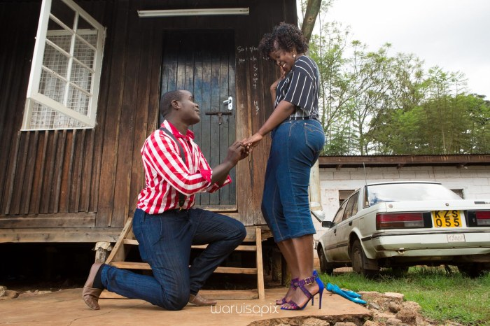 Mercie and Maurice Engagement shoot by waruisapix ring on a ball-34