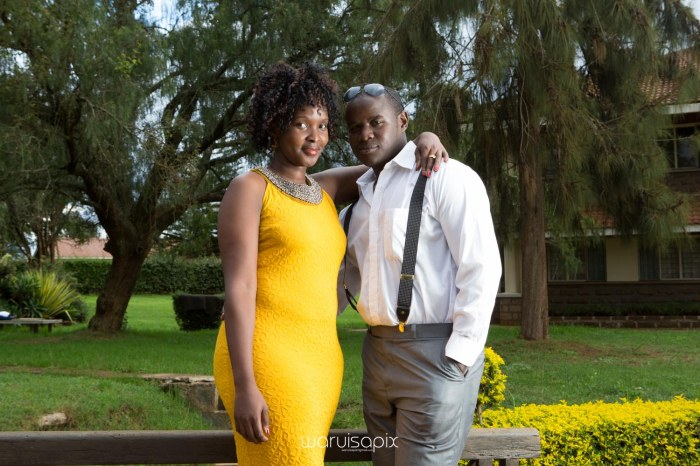 Mercie and Maurice Engagement shoot by waruisapix ring on a ball-45