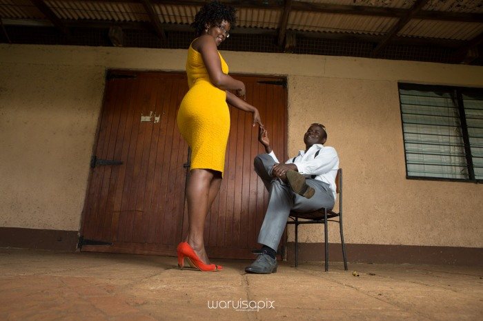 Mercie and Maurice Engagement shoot by waruisapix ring on a ball-52