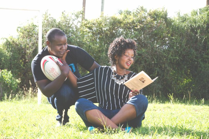 Mercie and Maurice Engagement shoot by waruisapix ring on a ball-6