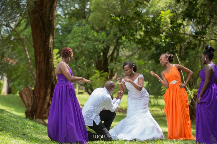 wedding photoshoot on a Helipad on top of nairobi's tallest building KICC with the skyline in view and sunset by waruisapix top kenyan wedding photographer-109