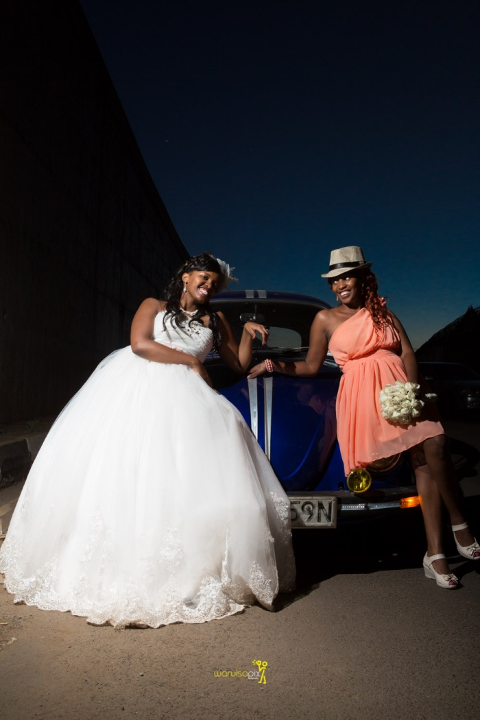 a vintage kenyan wedding with a random vw beetle and kombi convoy by kenya's top wedding photographer waruisapix-182