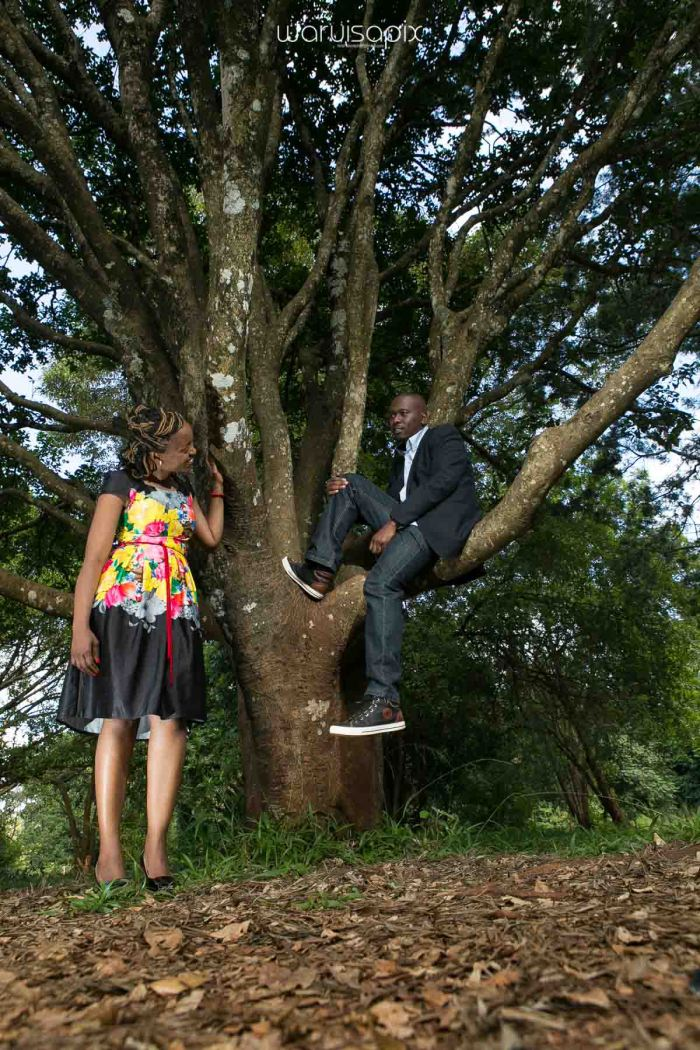 Shiku and Davie engagement photos by waruisapix at the nairobi arboretum-1