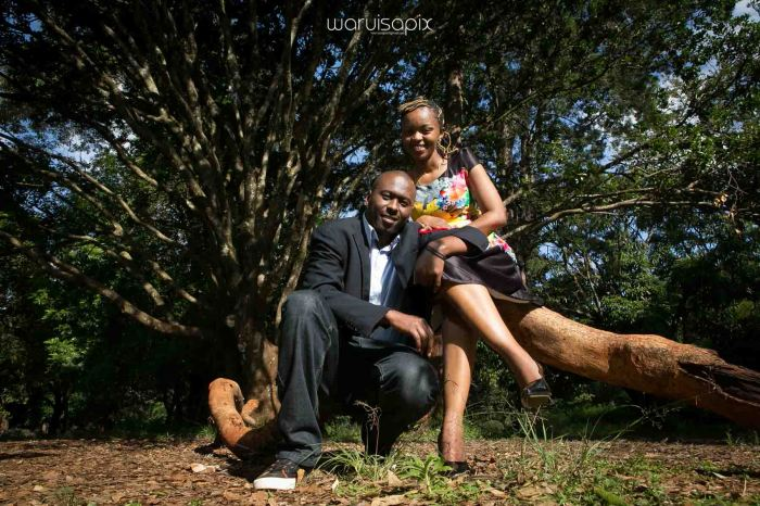 Shiku and Davie engagement photos by waruisapix at the nairobi arboretum-4
