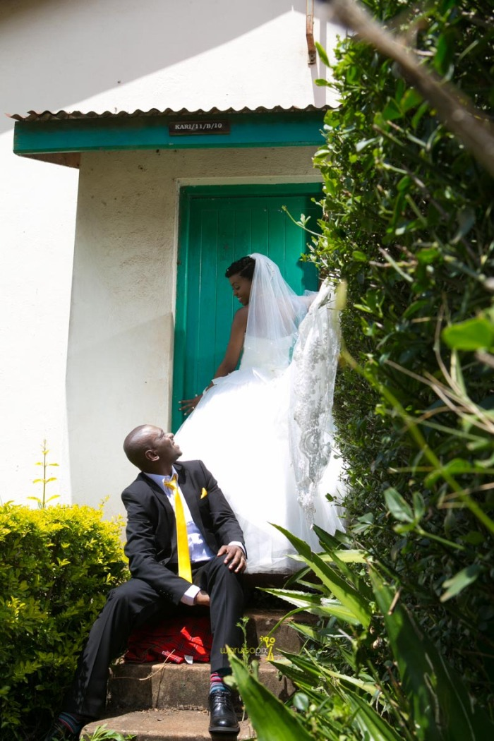 The great kenyan wedding random photoshhot with vintage car on nairobi streets by waruisapix ciiku weds Davie-103