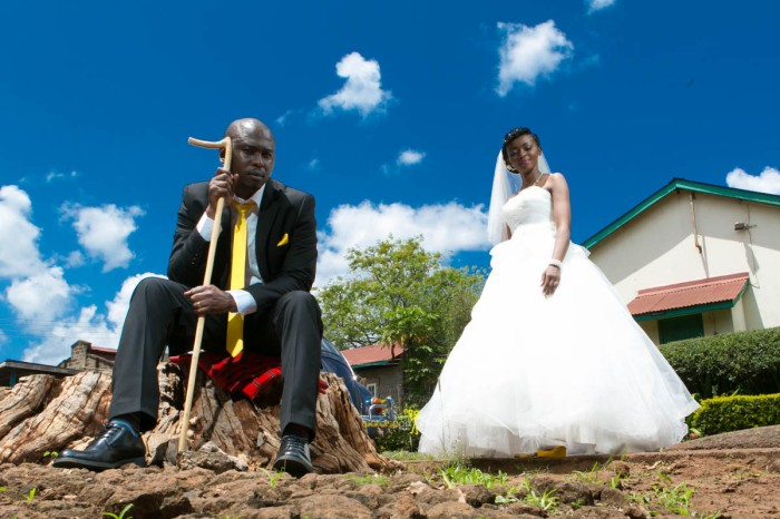 The great kenyan wedding random photoshhot with vintage car on nairobi streets by waruisapix ciiku weds Davie-105