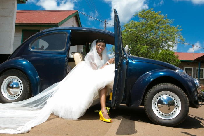 The great kenyan wedding random photoshhot with vintage car on nairobi streets by waruisapix ciiku weds Davie-109