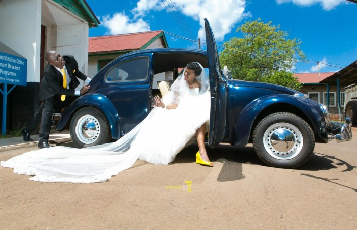 The great kenyan wedding random photoshhot with vintage car on nairobi streets by waruisapix ciiku weds Davie-110