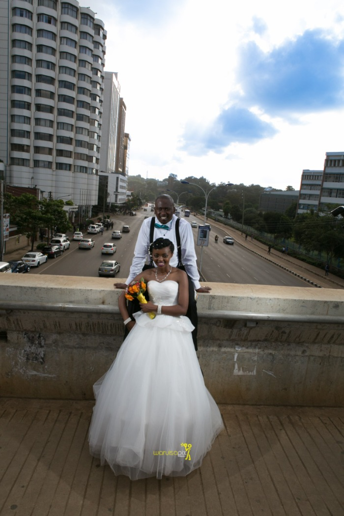The great kenyan wedding random photoshhot with vintage car on nairobi streets by waruisapix ciiku weds Davie-154
