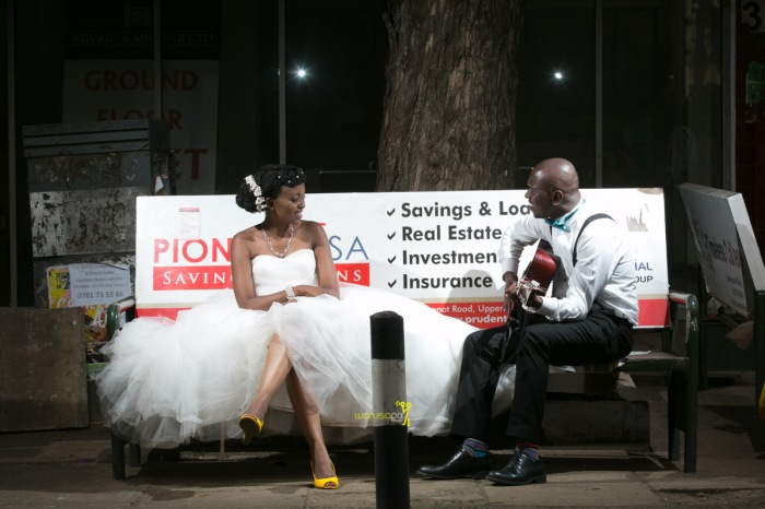 The great kenyan wedding random photoshhot with vintage car on nairobi streets by waruisapix ciiku weds Davie-168