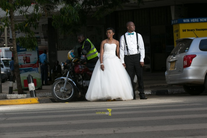 The great kenyan wedding random photoshhot with vintage car on nairobi streets by waruisapix ciiku weds Davie-170