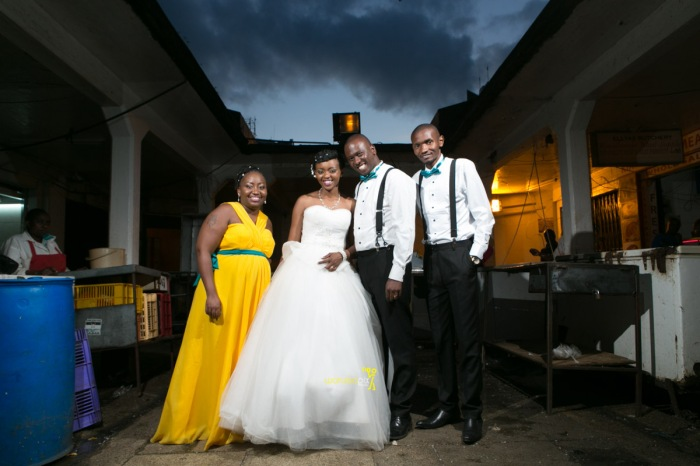 The great kenyan wedding random photoshhot with vintage car on nairobi streets by waruisapix ciiku weds Davie-178