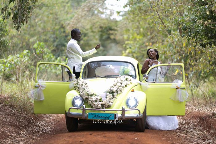 Henry and Sue Wedding Blog by Waruisapix Kenya's top photographer with vintage vw beetles -9095